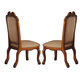 Acme Cotette Side Chairs in Cherry 04352 (Set of 2)