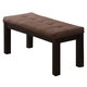 Acme Zenda Dining Bench in Brown 04893