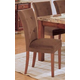 Acme Bologna Ultra-Plush Side Chairs in Brown 07053B (Set of 2)