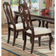 Acme Hamburg Side Chairs in Brown-Cherry 07071 (Set of 2)