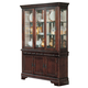 Acme Hamburg Buffet and Hutch in Brown 07073