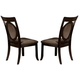 Acme Vienna Dining Side Chairs in Dark Cherry 08322 (Set of 2)