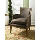 Hammary Hidden Treasures Accent Chair in Brown 090-430