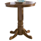Liberty Furniture Nostalgia Round Pub Table in Medium Oak Finish 10-PUB42