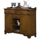 Liberty Furniture Nostalgia Server in Medium Oak Finish 10-SR4442