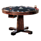 Coaster Marietta Game Table in Dark Brown 100171