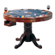 Coaster Mitchell Game Table in Dark Brown 100201