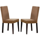 Coaster Dining Chair in Cappuccino (Set of 2) 100492