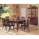 Coaster Newhouse 7pc Dining Set in Dark Cherry 100500S