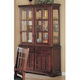 Coaster Newhouse Buffet and Hutch in Dark Cherry 100504