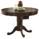 Coaster Turk 3-in-1 Round Pedestal Game Table in Brown Cherry 100871