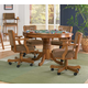 Coaster Mitchell 5pc Game Table Set in Brown 100951S