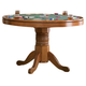Coaster Mitchell Game Table in Brown 100951