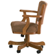 Coaster Mitchell Game Chair in Brown 100952