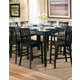 Coaster Pines Counter Height Table in Black 101038BLK