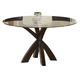 Coaster Dining Table in Cappuccino 101071