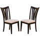 Coaster Dining Chair in Cappuccino (Set of 2) 101072