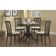 Coaster Brannan 5pc Dining Set in Cappuccino 101081S