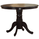 Coaster Brannan Dining Table in Cappuccino 101081
