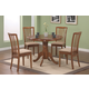 Coaster Brannan 5pc Dining Set in Maple 101091S