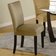 Coaster Bloomfield Parson Side Chair in Taupe (Set of 2) 101494