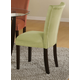 Coaster Bloomfield Parson Side Chair in Light Green (Set of 2) 101495
