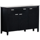 Coaster Louise Server in Black 101565