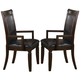 Coaster Ramona Arm Chair in Walnut (Set of 2) 101633