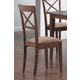 Coaster Side Chair with Cross Back in Walnut (Set of 2) 101774