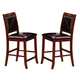 Coaster Lancaster Counter Height Stool in Brown (Set of 2) 101792