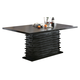 Coaster Stanton Dining Table in Black 102061
