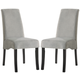 Coaster Stanton Dining Chair in Gray (Set of 2) 102062