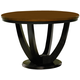 Coaster Boyer Dining Table in Black & Cherry 102091
