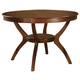 Coaster Nelms Dining Table in Brown Walnut 102171