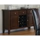 Coaster Rodeo Server in Cherry 102245