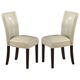 Coaster Carter Dining Chair in Cream (Set of 2) 102264