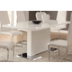 Coaster Modern Dining Table with Chrome Metal Base 102310