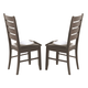 Coaster Dalila Splat Back Side Chair in Cappuccino (Set of 2) 102722