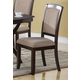Coaster Side Chair in Cappuccino (Set of 2) 102752