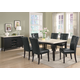 Coaster Anisa 7pc Dining Set in Cappuccino 102771S
