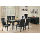 Coaster Anisa 7pc Dining Set in Black 102791S