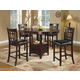 Coaster Lavon 5pc Dining Set in Cappuccino 102888S