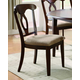 Coaster Liam Dining Chair in Cherry 102992 (Set of 2)