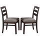 Coaster Dabny Dining Chair in Cappuccino (Set of 2) 103102