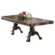 Coaster Andrea Dining Table in Brown Cherry 103111