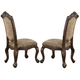 Coaster Andrea Side Chair in Brown Cherry (Set of 2) 103112