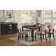 Coaster Libby 7pc Rectangular Dining Set in Cappuccino 103161S