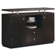 Coaster Libby Server in Cappuccino 103165