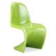 Zuo Modern S Chair Green (Set of 2) 103185
