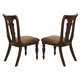 Coaster Addison Splat Back Side Chair in Cherry Brown (Set of 2) 103512